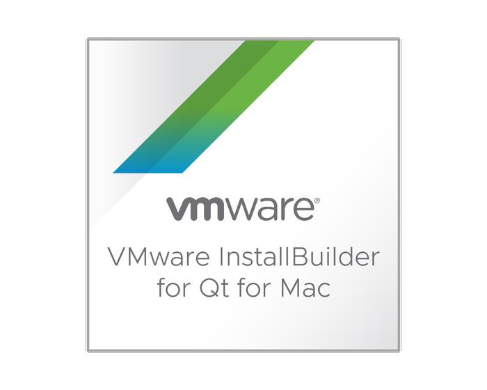 VMware InstallBuilder pour Qt pour Mac
