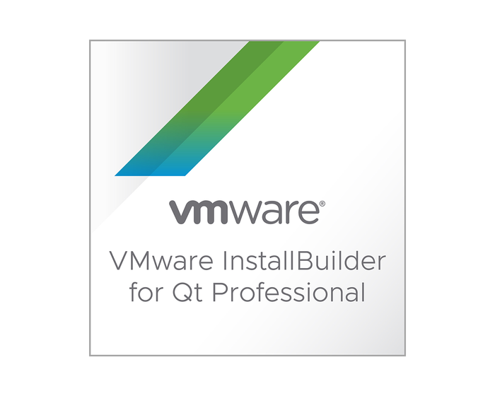 VMware InstallBuilder pour Qt Professional