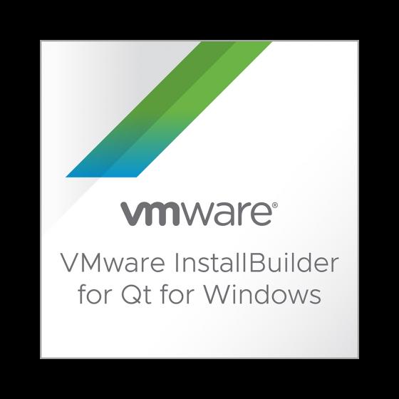VMware InstallBuilder pour Qt pour Windows